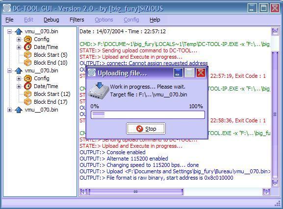 DC-TOOL GUI 2.0