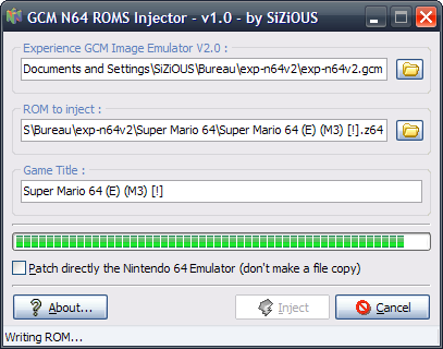 N64 Emulator ROMS Injector