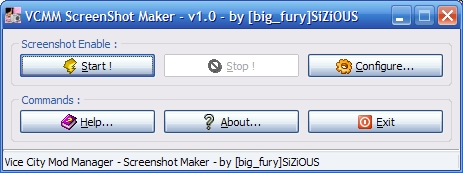 VCM Screenshot Maker